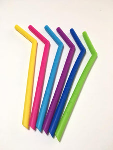 STRAW SILICONE WITH BEND