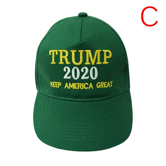 Hot Sale 1 Pc Trump 2020 Keep Make America Great Again Cap Baseball Donald Embroidered Hat Cap
