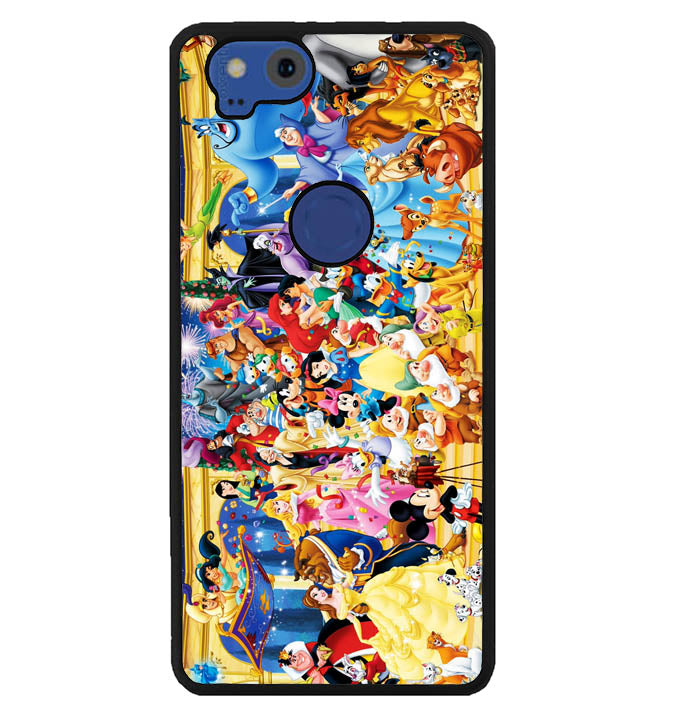 All Characters disney Y400 Google Pixel 2 Case