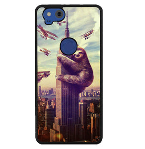 cool sloth wallpaper Y0426 Google Pixel 2 Case
