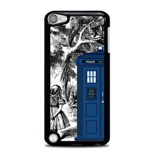 Alice In Wonderland Tardis Y0439 iPod Touch 5 Case