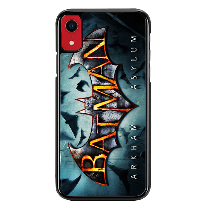 logo batman wallpaper Y0468 iPhone XR Case