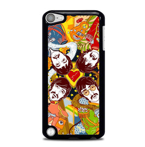 Beatles Sgt Pepper Cartoon Y0482 iPod Touch 5 Case