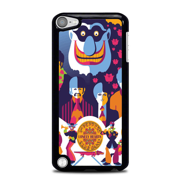 Beatles Graffiti All You Need Is Love WALLPAPER Y0485 iPod Touch 5 Case