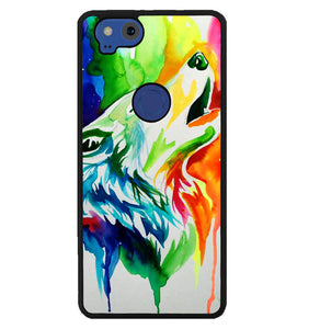 WALLPAPER Rainbow Watercolor Drop Y0502 Google Pixel 2 Case