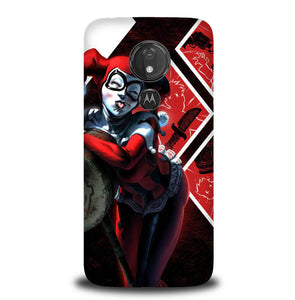 JOKER QUINN Y0572 Motorola Moto G7 Power Case