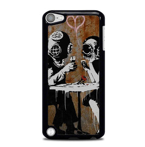 Banksy Think Love Y0584 iPod Touch 5 Case