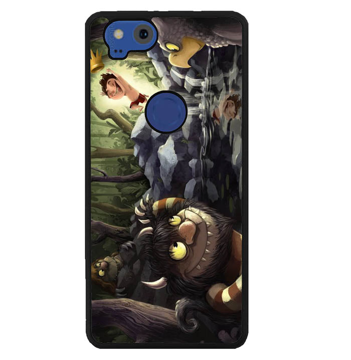 Where the Wild Things Are cartoon WALLPAPER Y0609 Google Pixel 2 Case