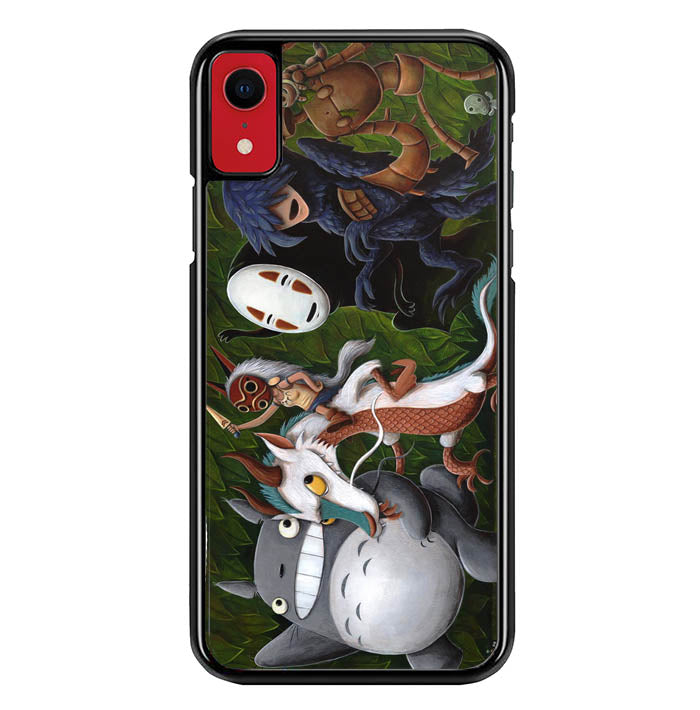 Where studio ghibli the Wild Things Are Y0611 iPhone XR Case