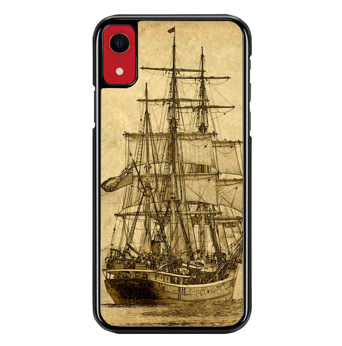 Vintage old ship Y0618 iPhone XR Case