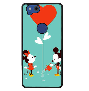 Valentine Mickey and Minnie Kiss Y0621 Google Pixel 2 Case