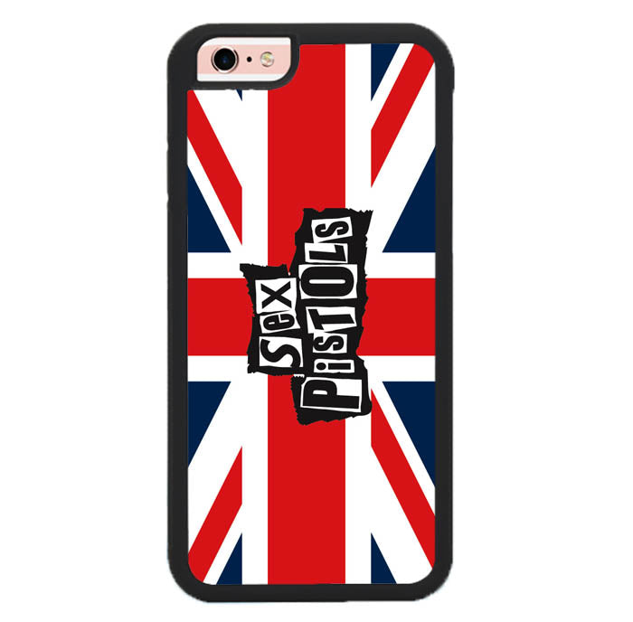 SEX PISTOLS BAND WALLPAPER Y0667 iPhone 6, 6S Case