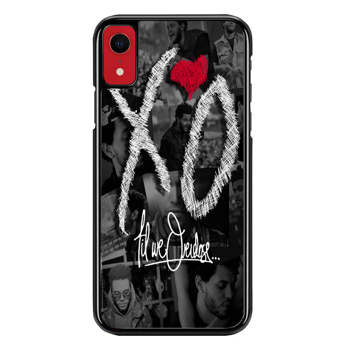 the weeknd xo WALLPAPER Y0839 iPhone XR Case