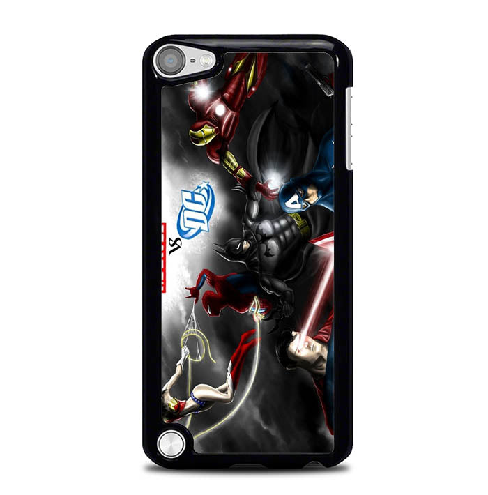 dc vs marvel Y0898 iPod Touch 5 Case