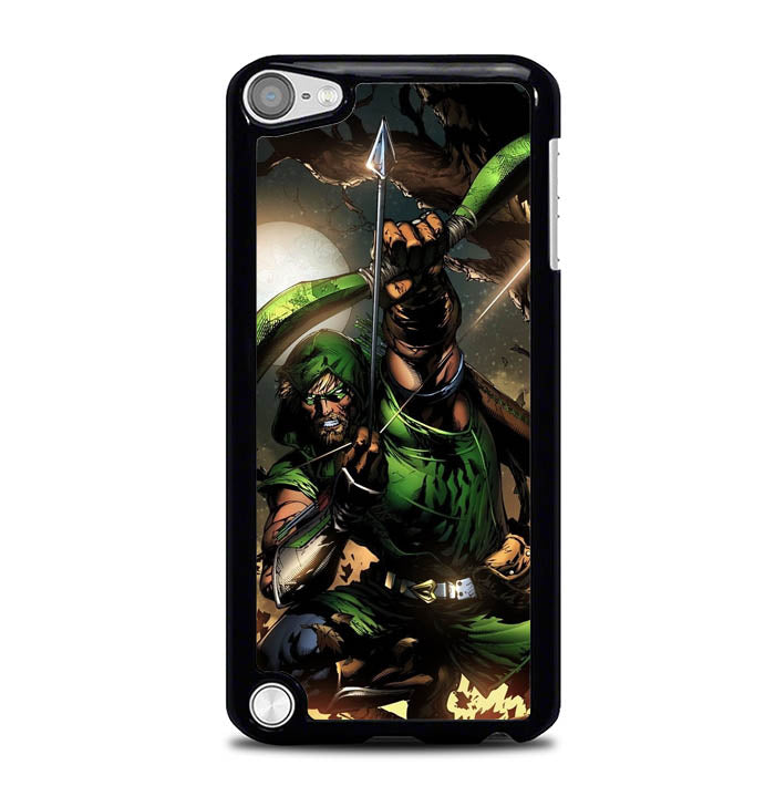 green arrow Y0907 iPod Touch 5 Case