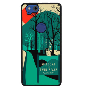 welcome to twin peaks wallpaper Y0980 Google Pixel 2 Case