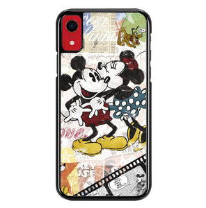 Vintage Disney Mickey Mouse Y0987 iPhone XR Case