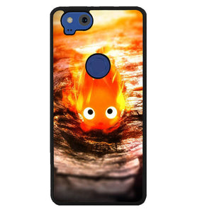 calcifer wallpaper Y1101 Google Pixel 2 Case