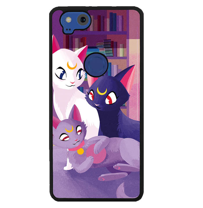 Luna Cat Sailor Moon Y1118 Google Pixel 2 Case
