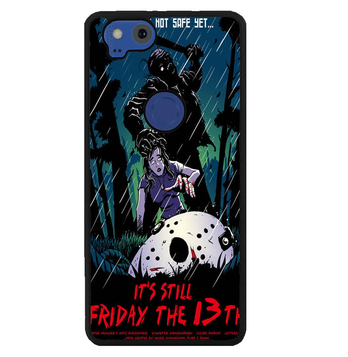 friday the 13th wallpaper Y1241 Google Pixel 2 Case