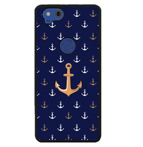Anchor Pattern Y1269 Google Pixel 2 Case