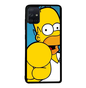 Homer Simpson Face Wallpaper Y1289 Samsung Galaxy A51 Case Niftyminds