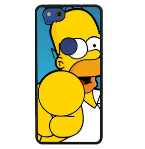 homer simpson face wallpaper Y1289 Google Pixel 2 Case