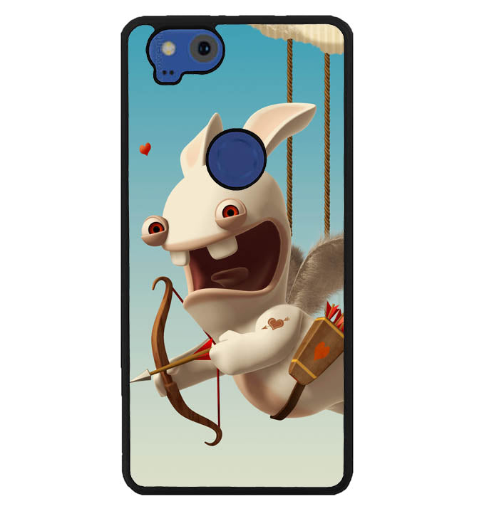 rabbids invasion wallpaper Y1296 Google Pixel 2 Case