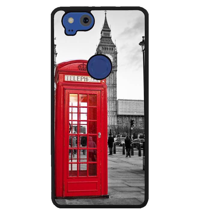 london telephone booth wallpaper Y1314 Google Pixel 2 Case