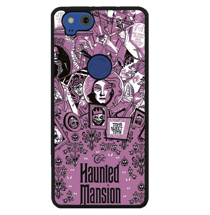 haunted mansion poster Y1364 Google Pixel 2 Case