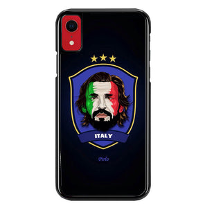 Italy pirlo W0003 iPhone XR Case
