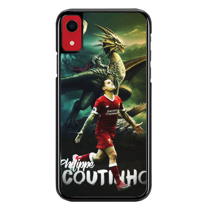 philippe coutinho liverpool W0013 iPhone XR Case