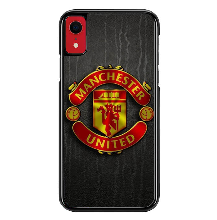 Manchester united W0071 iPhone XR Case