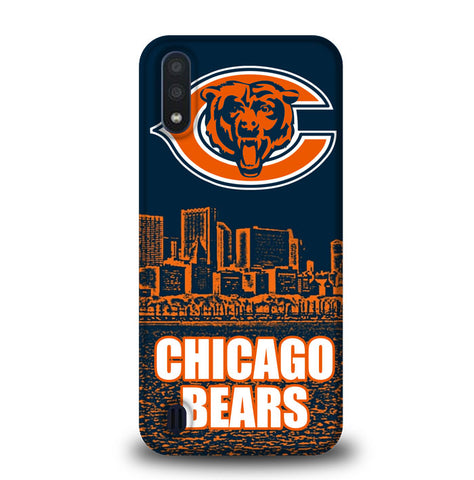 Chicago Bears W3076 Samsung Galaxy A01 Case
