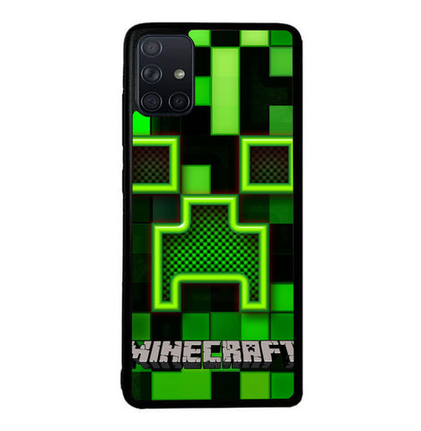 Minecraft Creeper  W3255 Samsung Galaxy A51 Case