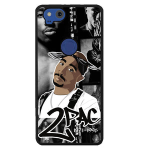 Tupac Shakur collage W3268 Google Pixel 2 Case
