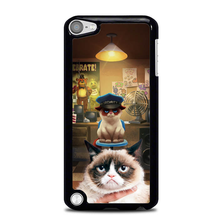 grumpy cat Five Nights at Freddy W3459 iPod Touch 5 Case