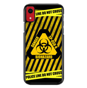 police line do not cross W4008 iPhone XR Case