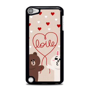 cony brown line W4065 iPod Touch 5 Case