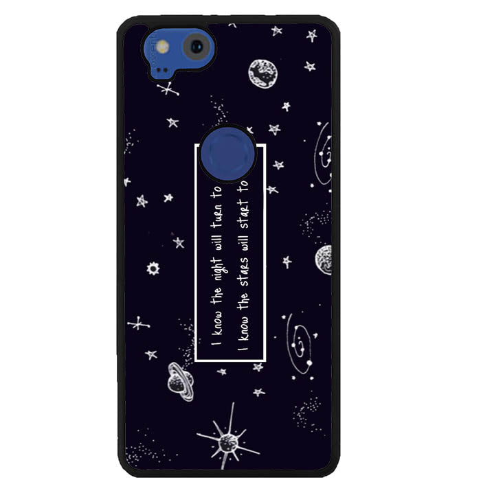 i know the night W4317 Google Pixel 2 Case