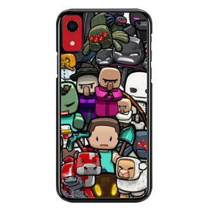 Minecraft All W4482 iPhone XR Case