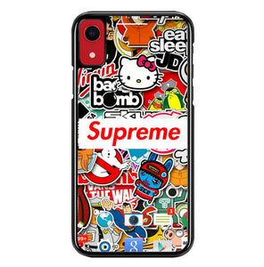 supreme W4802 iPhone XR Case
