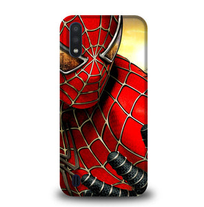 spiderman W4842 Samsung Galaxy A01 Case
