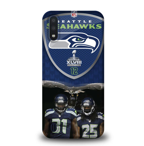 Seattle Seahawks W4887 Samsung Galaxy A01 Case