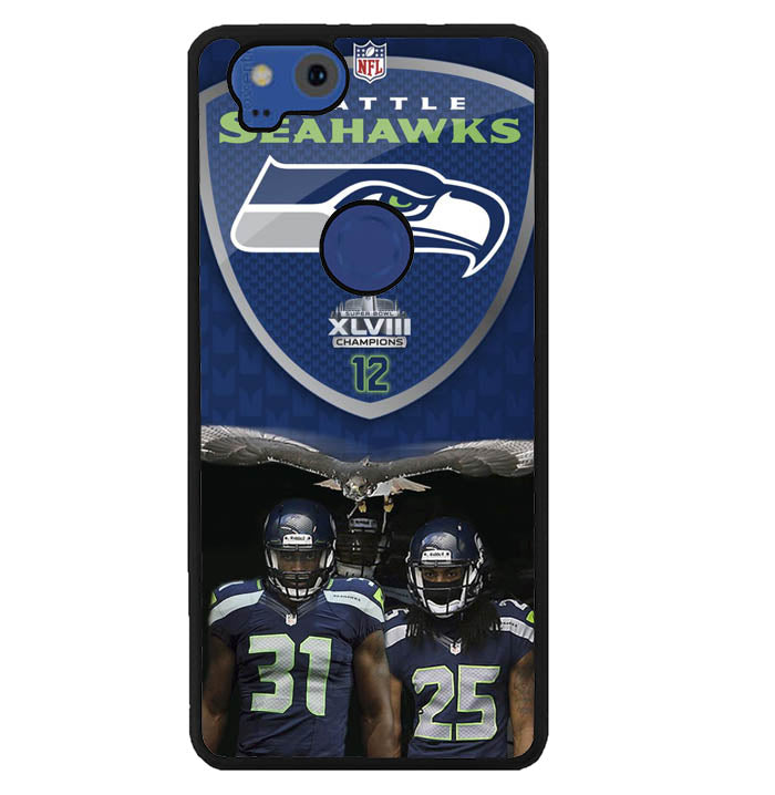 Seattle Seahawks W4887 Google Pixel 2 Case