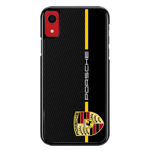 Porsche Stripe Carbon W4947 iPhone XR Case
