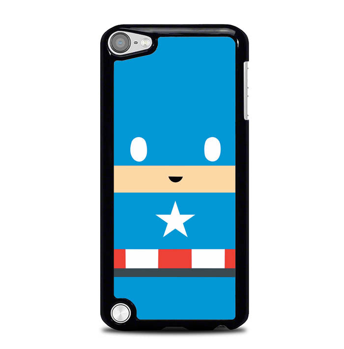 captain america face W5036 iPod Touch 5 Case