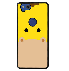 giraffe animal face W5039 Google Pixel 2 Case