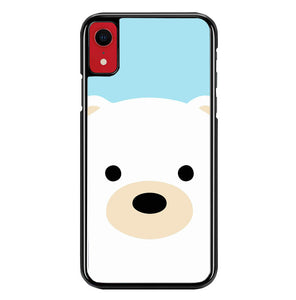 polar bear cartoon cute W5055 iPhone XR Case