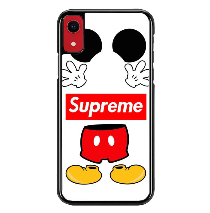 MICKEY MOUSE SUPREME W5096 iPhone XR Case